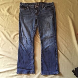 Mossimo Denim Curvy Fit Bootcut Blue Jeans 16 S